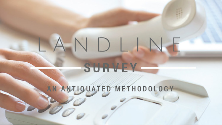 The Landline Survey: An Antiquated Methodology