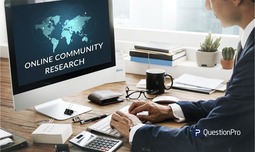 online community research