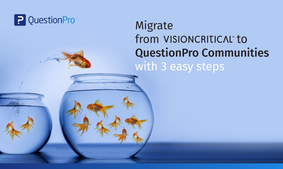 QuestionPro Communties the Number 1 Alternative to Vision Critical