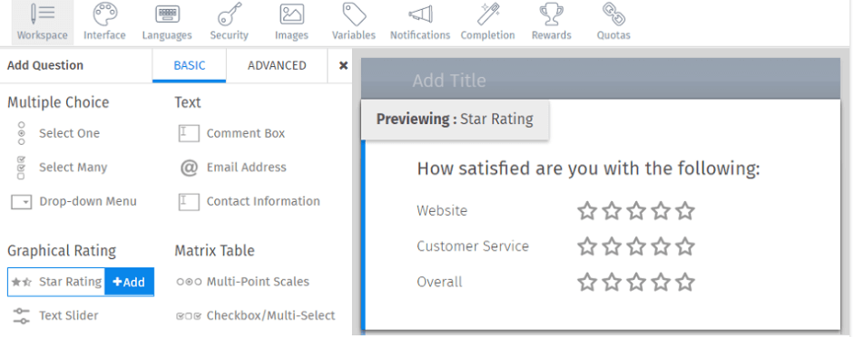 Star-Rating-Question