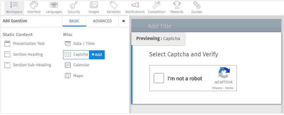 Captcha-Question