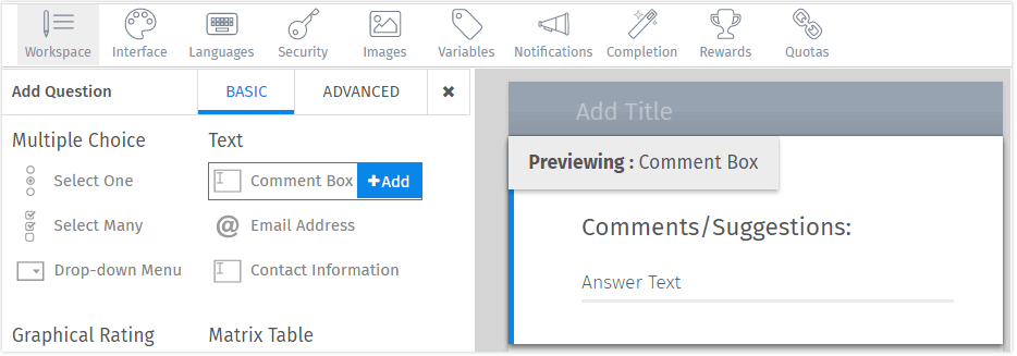 Comment-box-open-ended-text-question
